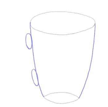 Рисовать кружку карандашом поэтапно
