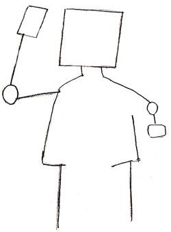 Как нарисовать аниме, шаг 1