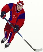 Как нарисовать Хоккеиста поэтапно