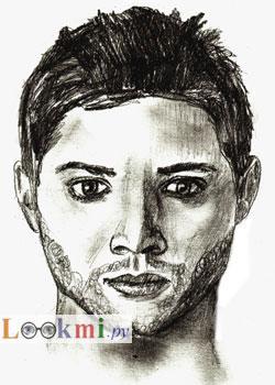 Как нарисовать портрет, шаг 6