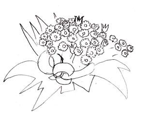 Как рисовать цветы, шаг 4