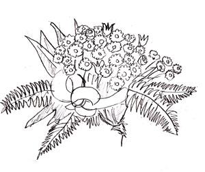 Как рисовать цветы, шаг 5