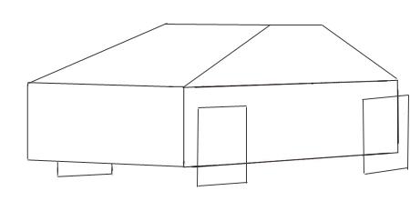 Как нарисовать машину, шаг 2