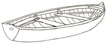 Как нарисовать лодку, шаг 4