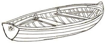 Как нарисовать лодку, шаг 5