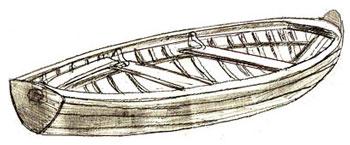 Как нарисовать лодку, шаг 6